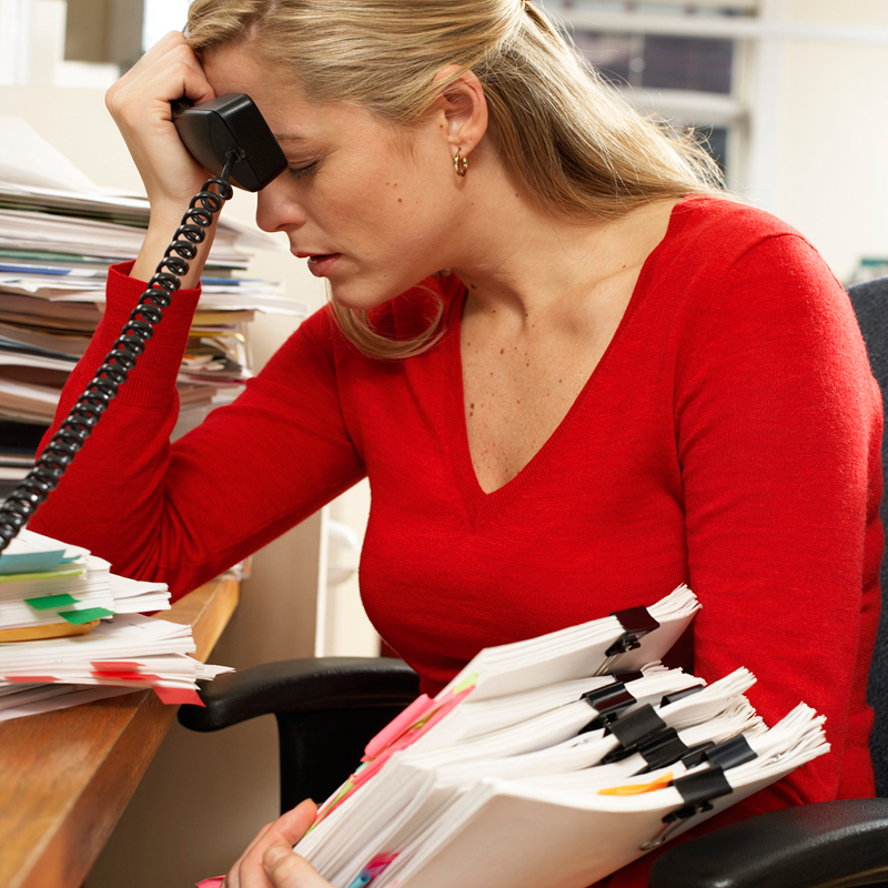 stress among working women Admit it, men: you're stressed the boss might be causing you stress at work and making you women's stress often comes from working as well as having the.