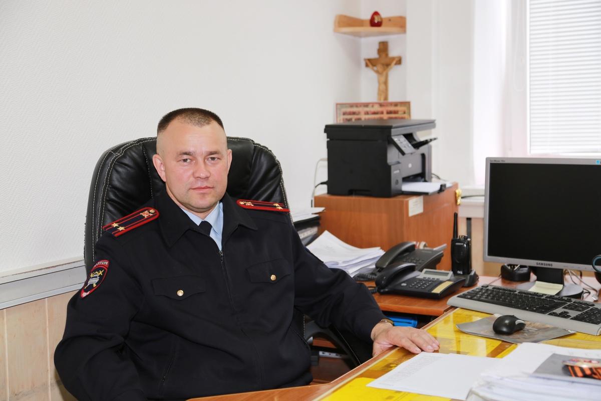 Командир спецбата УГИБДД по Чувашии Владимир Лазарев