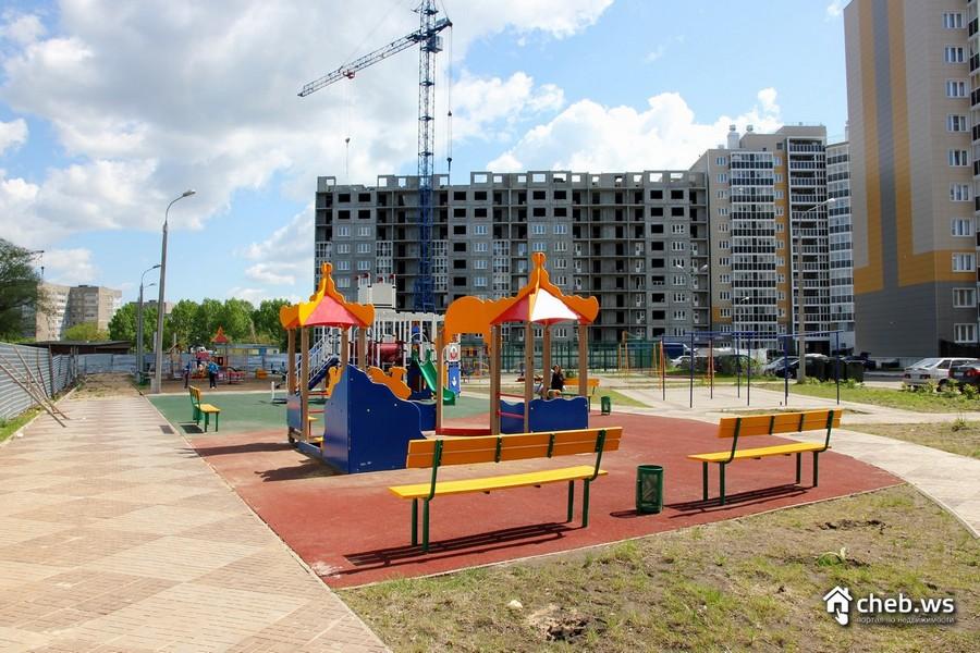 ЖК Речной бульвар Новочебоксарск