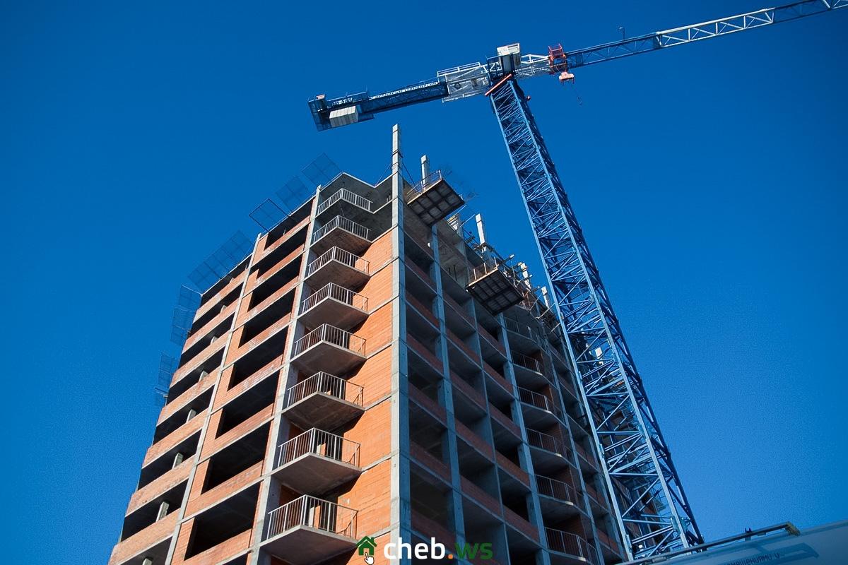 Жилой комплекс «Ривьера», февраль 2020 года