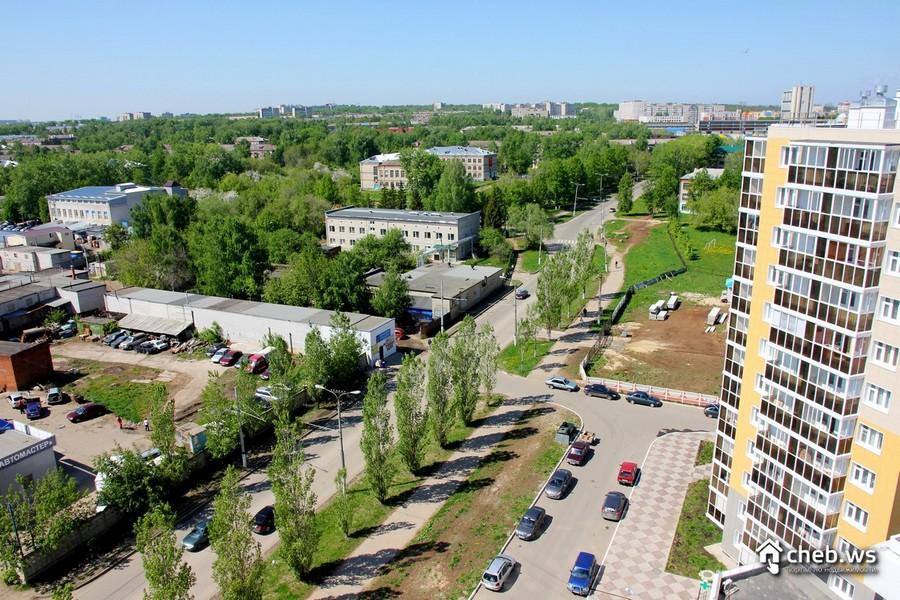 Гаражный комплекс напротив ЖК Речной бульвар Новочебоксарск
