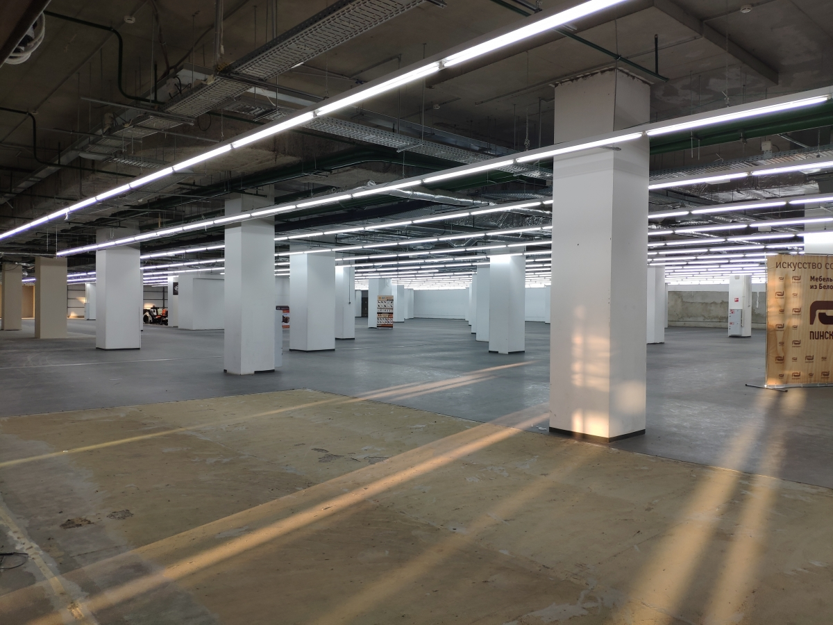 Цокольный этаж ТРЦ «Каскад» ждет своих арендаторов