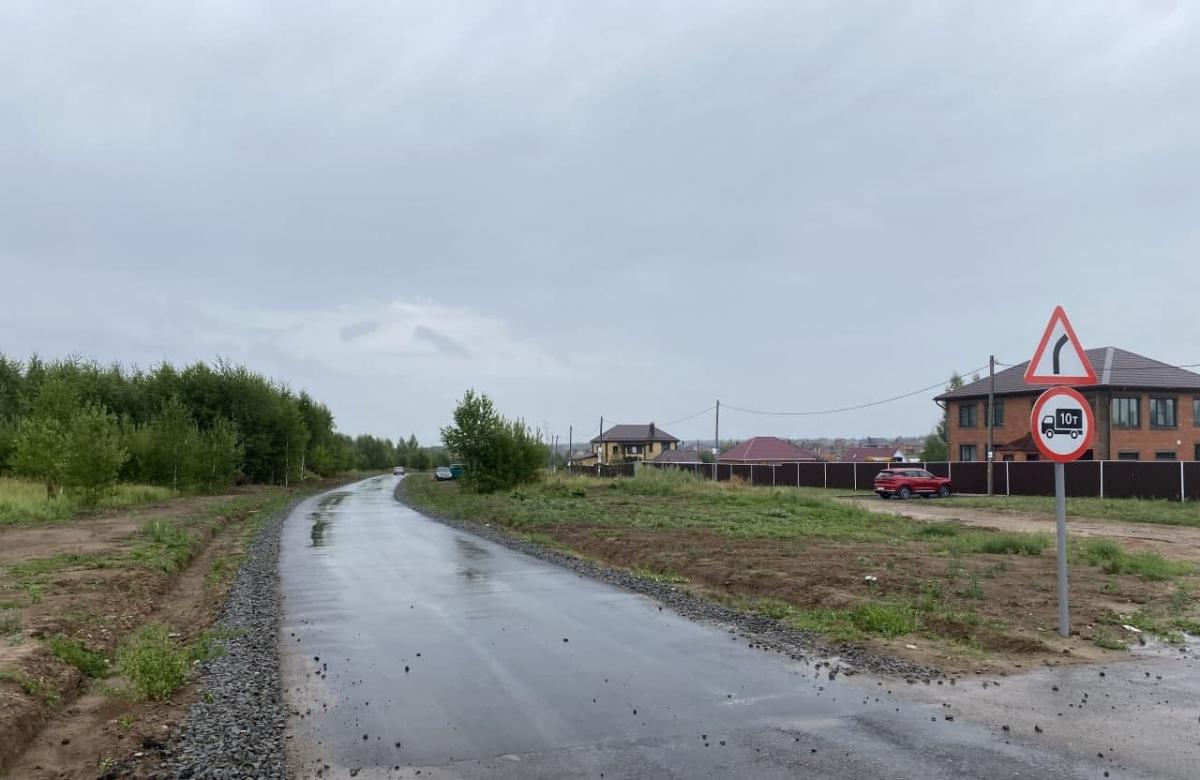 Строительство дорог идет по плану